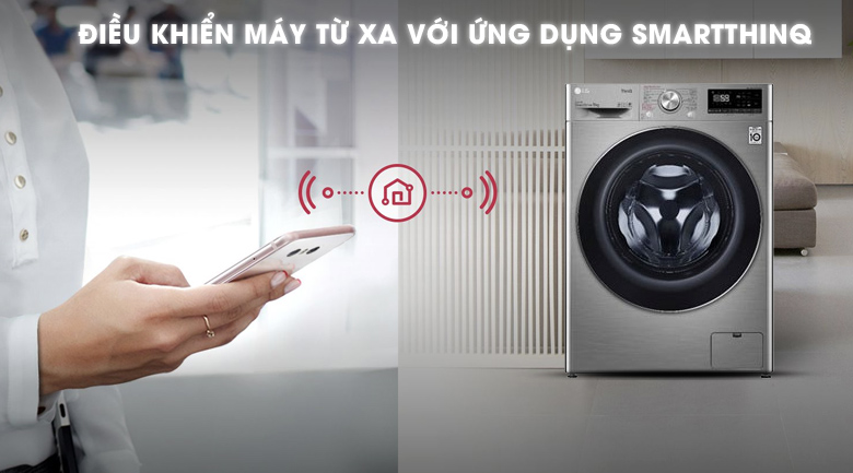 Máy giặt LG Inverter 9 kg FV1409S2V - SmartThinQ