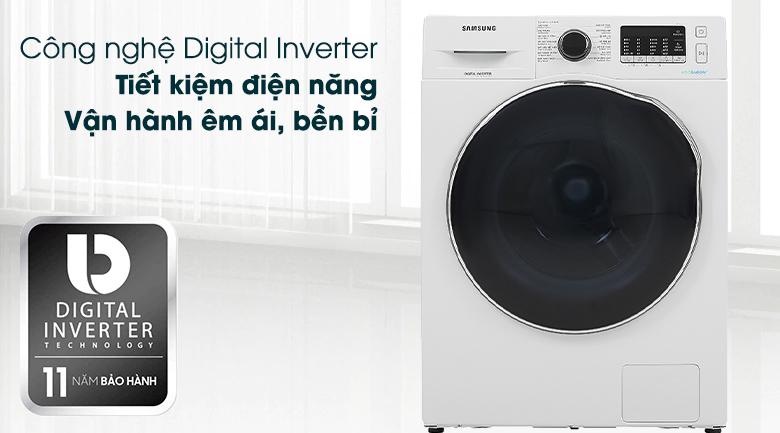 Máy giặt sấy Samsung Inverter 9.5kg WD95J5410AW/SV - Digital Inverter