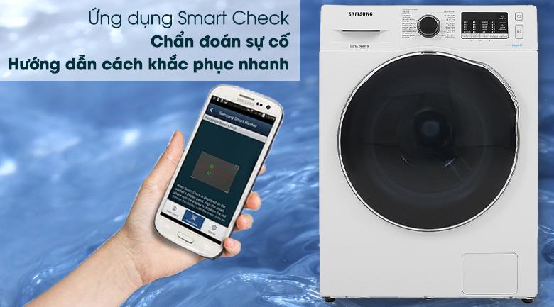 Máy giặt sấy Samsung Inverter 9.5kg WD95J5410AW/SV - Smart Check