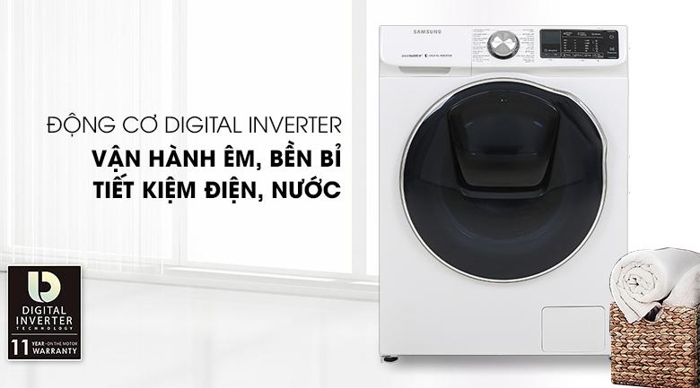 Máy giặt sấy Samsung AddWash Inverter 10.5 kg WD10N64FR2W/SV - Digital Inverter