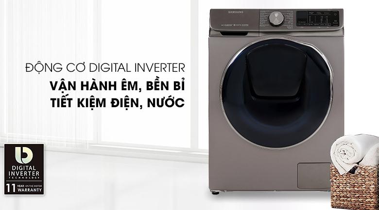Máy giặt sấy Samsung AddWash Inverter 10.5 kg WD10N64FR2X/SV - Digital Inverter