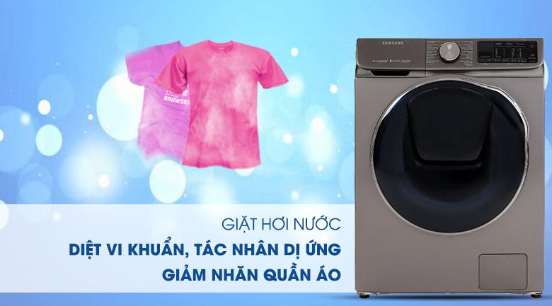 Máy giặt sấy Samsung AddWash Inverter 10.5 kg WD10N64FR2X/SV - Giặt hơi nước