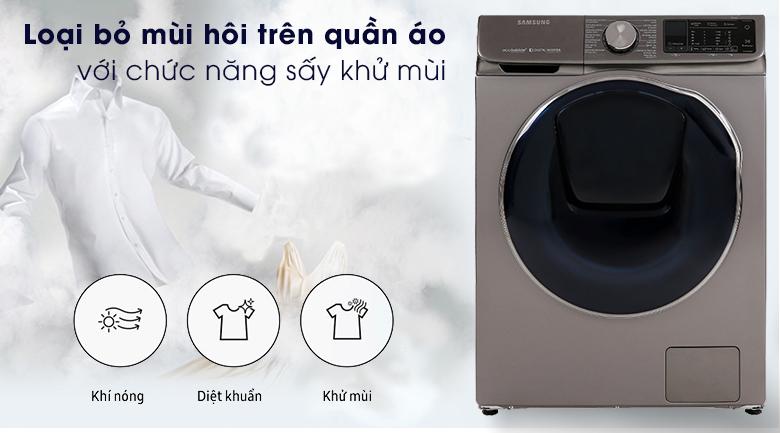 Máy giặt sấy Samsung AddWash Inverter 10.5 kg WD10N64FR2X/SV - Air Wash