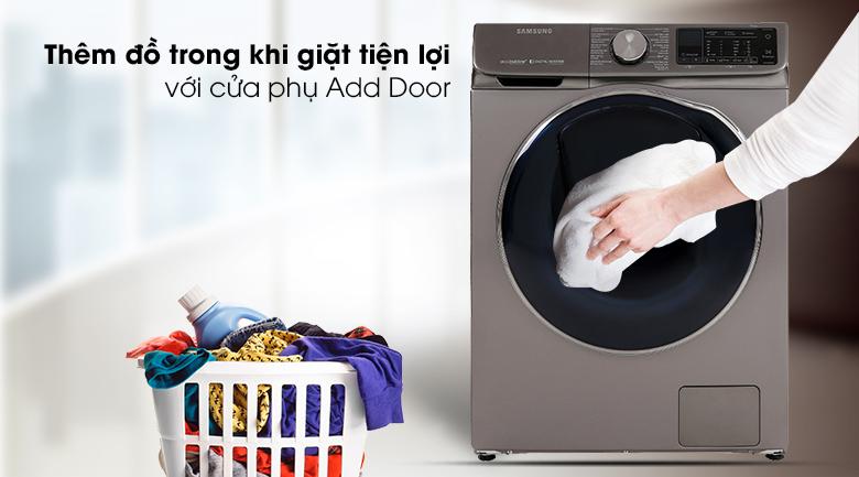 Máy giặt sấy Samsung AddWash Inverter 10.5 kg WD10N64FR2X/SV - Cửa phụ Add Door