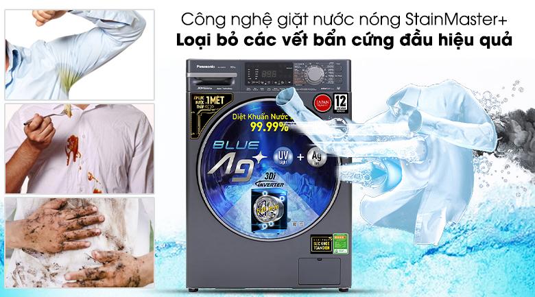 Máy giặt Panasonic Inverter 9.5 Kg NA-V95FX2BVT - Công nghệ giặt nước nóng