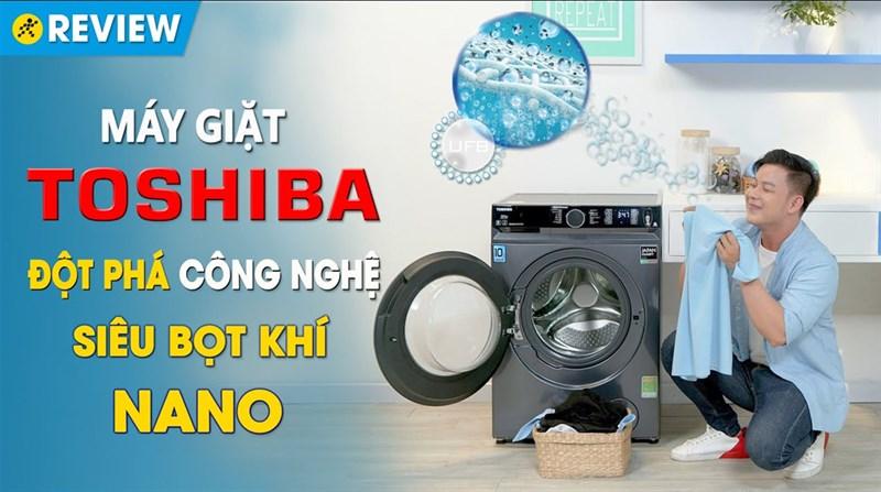 Máy giặt Toshiba Inverter 9.5 Kg TW-BK105G4V(MG)