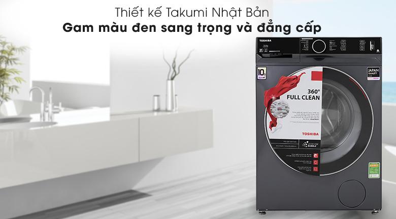 Máy giặt Toshiba Inverter 10.5 Kg TW-BK115G4V (MG) - Thiết kế Takumi
