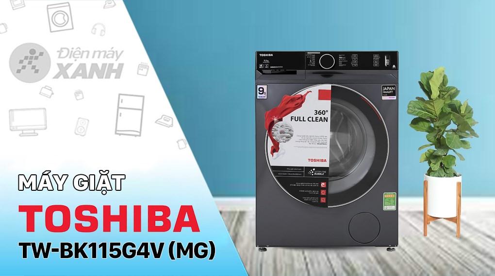 Máy giặt Toshiba Inverter 10.5 Kg TW-BK115G4V (MG)