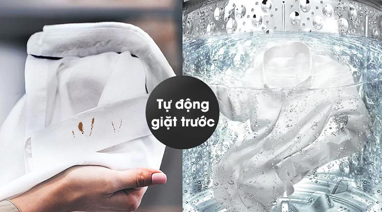 Máy giặt LG Inverter 11 kg TH2111SSAB - Chế độ tự động giặt trước