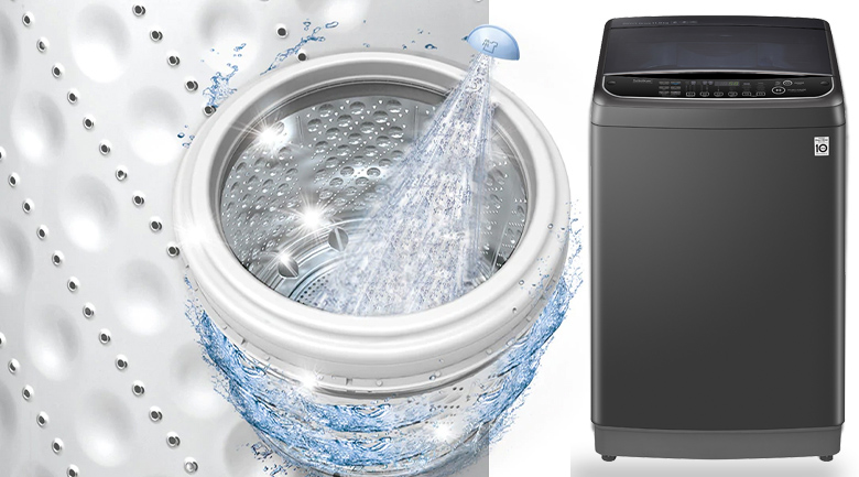 Máy giặt LG Inverter 11 kg TH2111SSAB - Vệ sinh lồng giặt