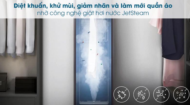 Tủ chăm sóc quần áo AirDresser Samsung - JetSteam