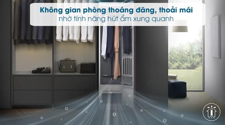 Tủ chăm sóc quần áo AirDresser Samsung - Hút ẩm