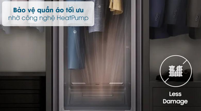 Tủ chăm sóc quần áo AirDresser Samsung - HeatPump
