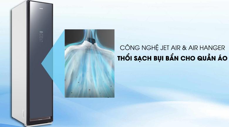 Tủ chăm sóc quần áo AirDresser Samsung - thổi sạch bụi
