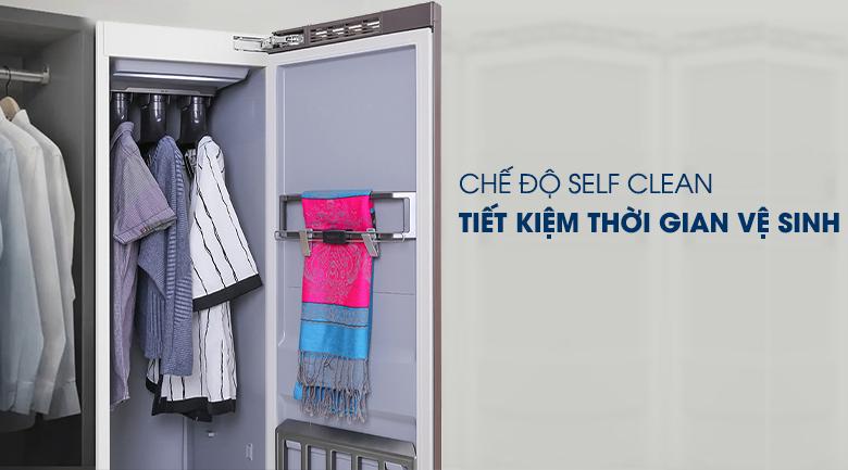 Tủ chăm sóc quần áo AirDresser Samsung - tự vệ sinh