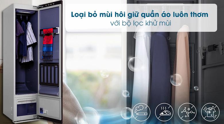Tủ chăm sóc quần áo AirDresser Samsung - Khử mùi