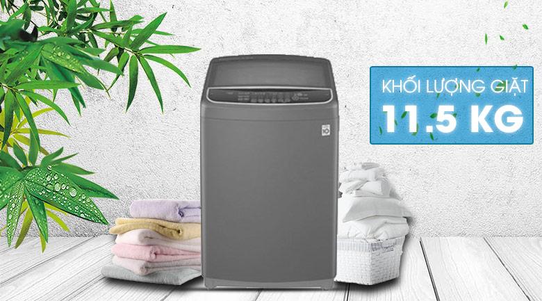 Máy giặt LG Inverter 11.5 kg T2351VSAB - thiết kế thanh lịch