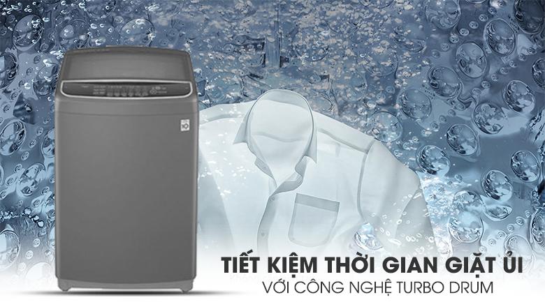 Máy giặt LG Inverter 11.5 kg T2351VSAB - công nghệ Turbo Drum