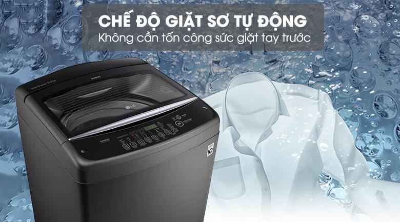 Máy giặt LG Inverter 11.5 kg T2351VSAB - Chế độ giặt sơ Auto Prewash