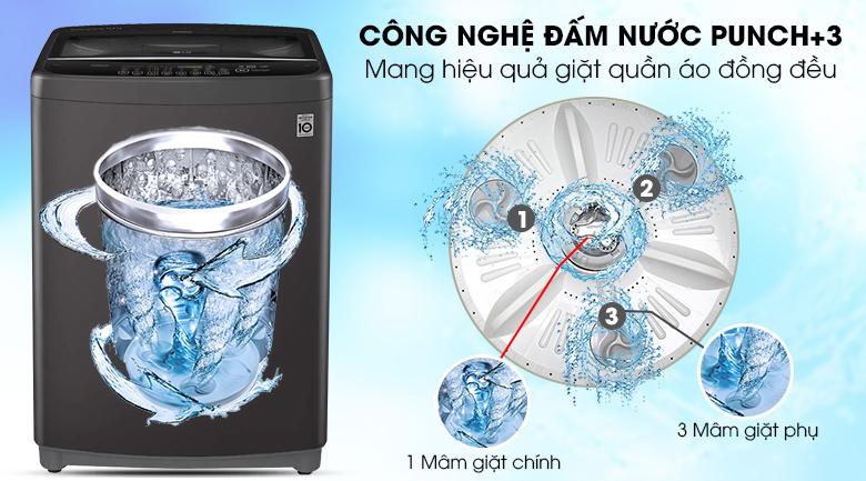 Máy giặt LG Inverter 11.5 kg T2351VSAB - Công nghệ đấm nước Punch+3