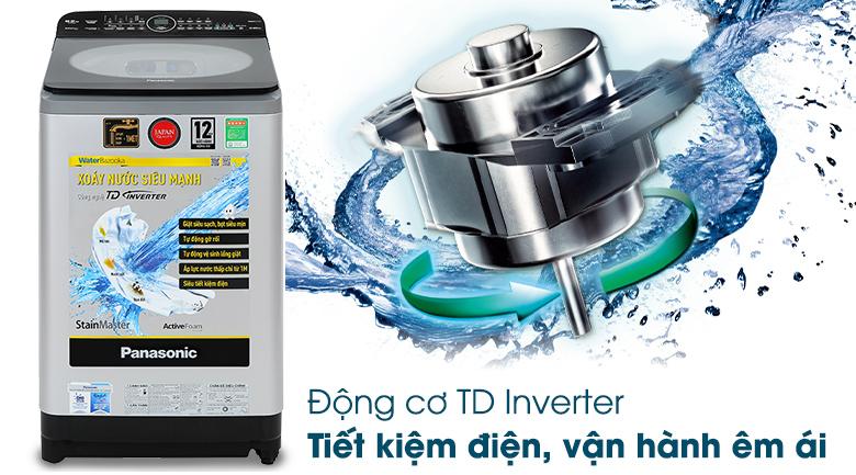 Công nghệ Inverter - Máy giặt Panasonic Inverter 9.5kg NA-FD95X1LRV