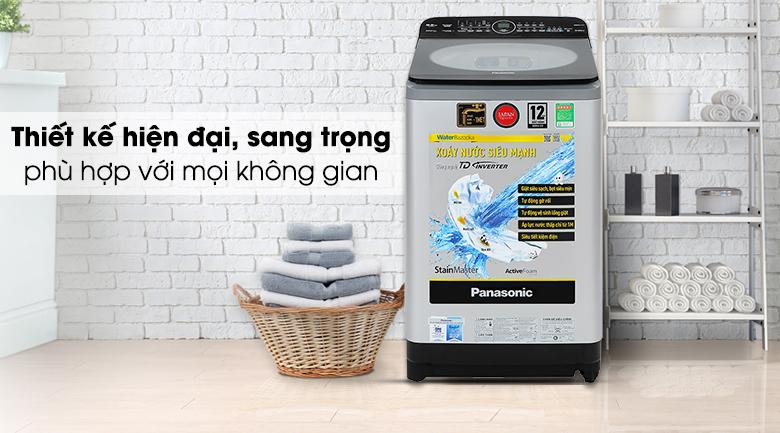 Thiết kế - Máy giặt Panasonic Inverter 9.5kg NA-FD95X1LRV
