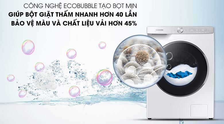Máy giặt Samsung WW10TP44DSH/SV - EcoBubble