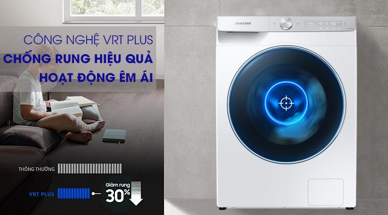 Máy giặt Samsung WW90TP54DSH/SV - hoạt động êm ái