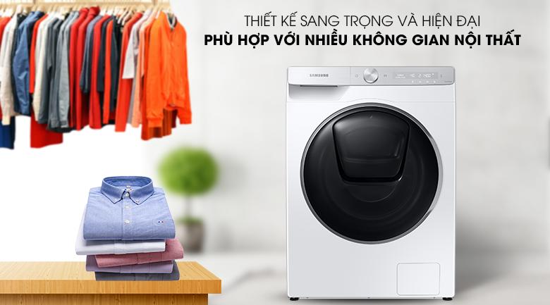 Máy giặt Samsung WW90TP54DSH/SV - thiết kế