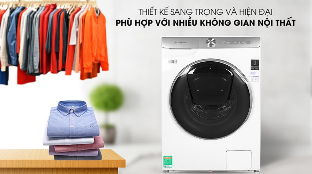 Máy giặt Samsung Inmverter 9 kg WW90TP54DSH/SV - Thiet ke may giat
