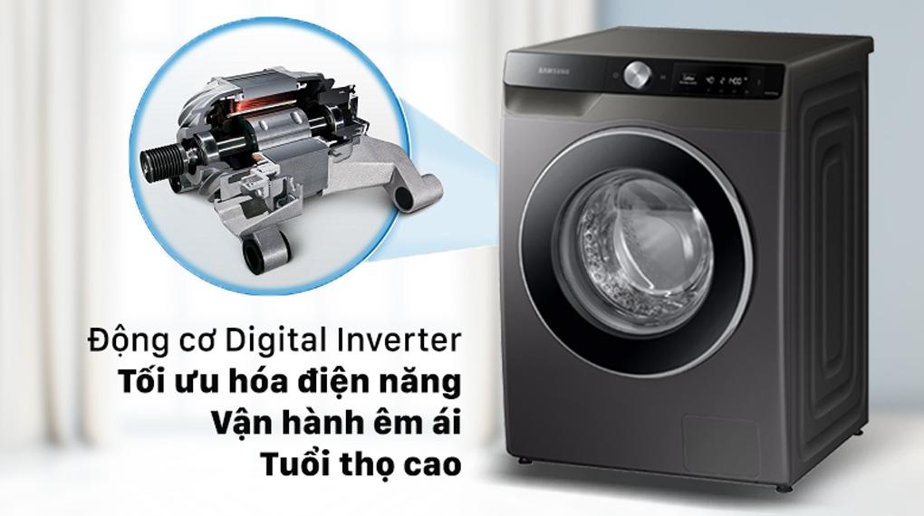 Máy giặt Samsung AI Inverter 10 kg WW10T634DLX/SV - Công nghệ Digital Inverter tiết kiệm điện
