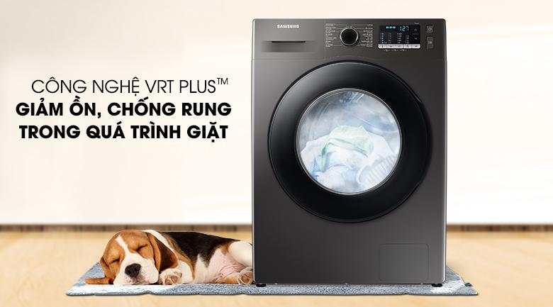 Máy giặt Samsung Inverter 9.5kg WW95TA046AX/SV - Giảm ồn, chống rung tốt hơn 30% với công nghệ VRT Plus™