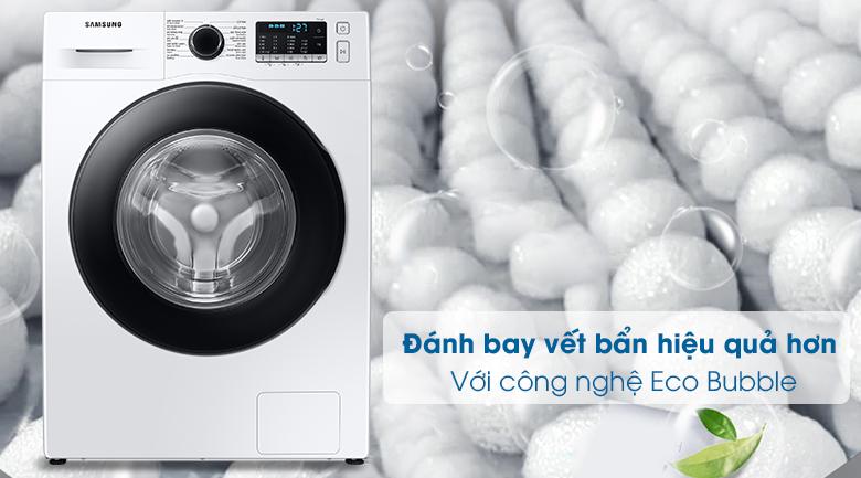 Máy giặt Samsung Inverter 10kg WW10TA046AE/SV - Giặt bong bóng