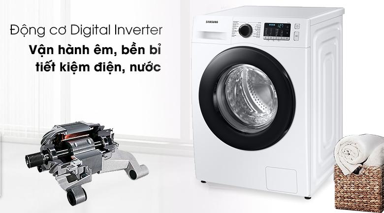 Máy giặt Samsung Inverter 10kg WW10TA046AE/SV - Inverter