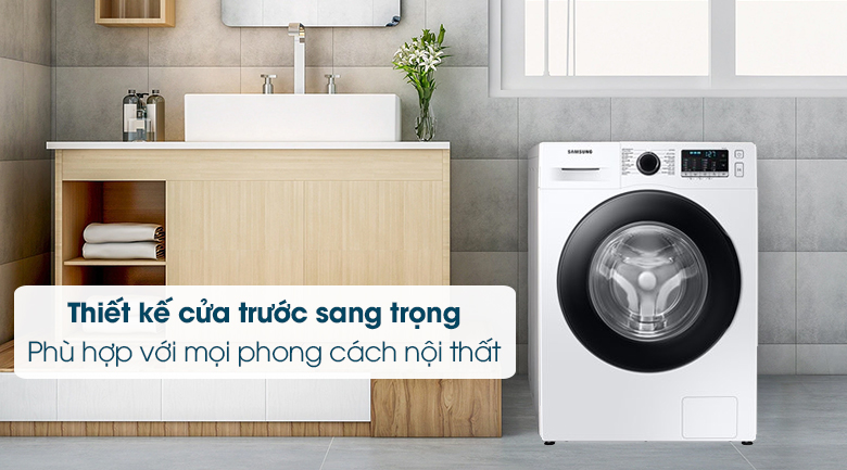 Máy giặt Samsung Inverter 10kg WW10TA046AE/SV - Thiết kế