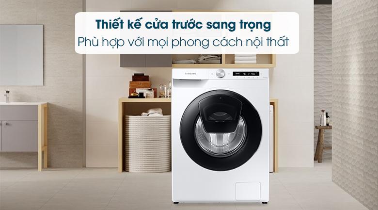 Máy giặt Samsung Addwash Inverter 8.5kg WW85T554DAW/SV - Thiết kế