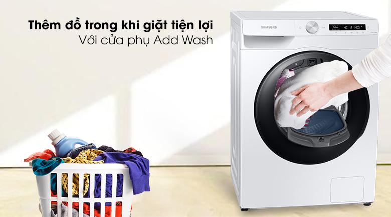 Máy giặt Samsung Addwash Inverter 8.5kg WW85T554DAW/SV - Add Wash