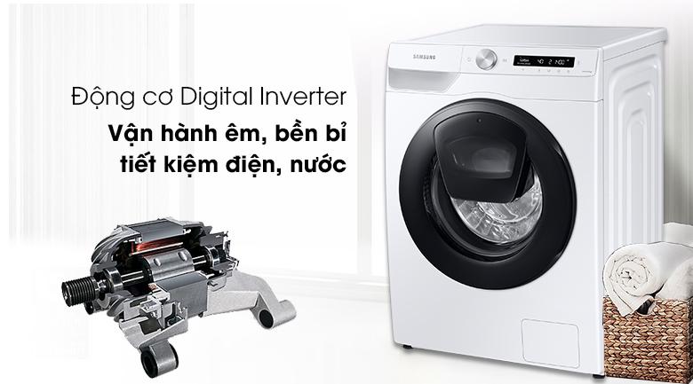 Máy giặt Samsung Addwash Inverter 8.5kg WW85T554DAW/SV - Digital Inverter