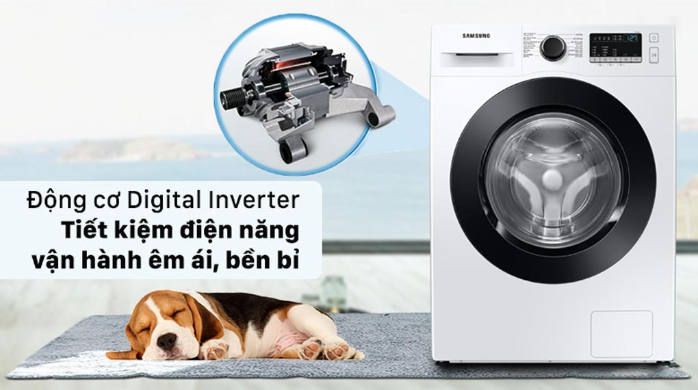 Máy giặt Samsung Inverter 9.5 kg WW95T4040CE/SV - tiết kiệm điện năng vận hành êm ái