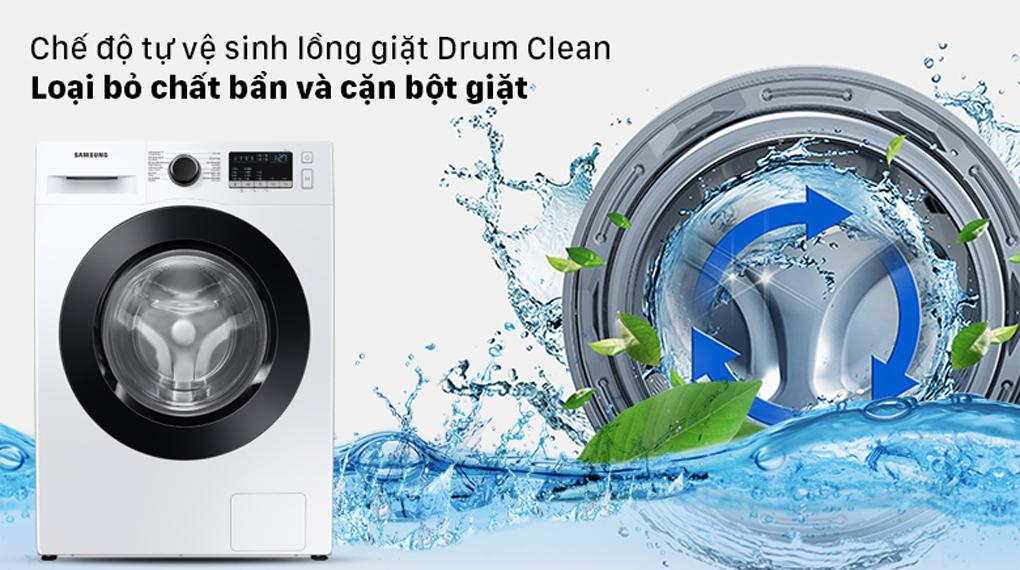 Máy giặt Samsung Inverter 9.5 kg WW95T4040CE/SV - Chế độ tự vệ sinh lồng giặt
