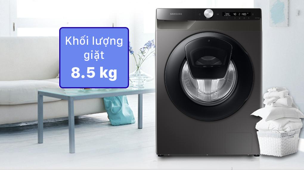 Máy giặt Samsung Inverter 8.5 kg WW85T554DAX/SV - Thiết kế sang trọng, hiện đại