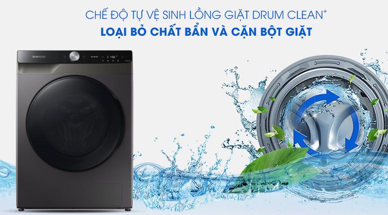 Máy giặt sấy Samsung WD14TP44DSB/SV - tự vệ sinh