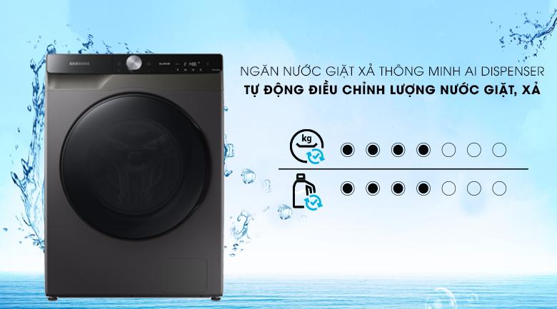 Máy giặt sấy Samsung WD14TP44DSB/SV - AI Dipenser