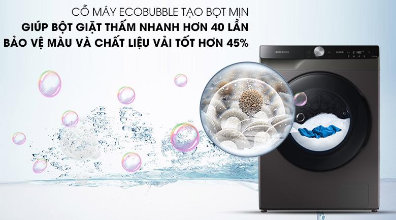 Máy giặt sấy Samsung WD14TP44DSB/SV - EcoBubble