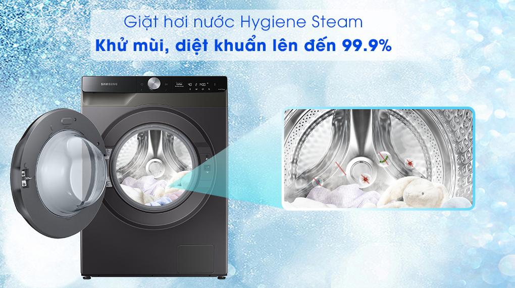 Máy giặt sấy Samsung 11kg WD11T734DBX/SV - giặt hơi nước