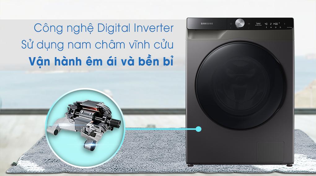 Máy giặt sấy Samsung 11kg WD11T734DBX/SV - Inverter
