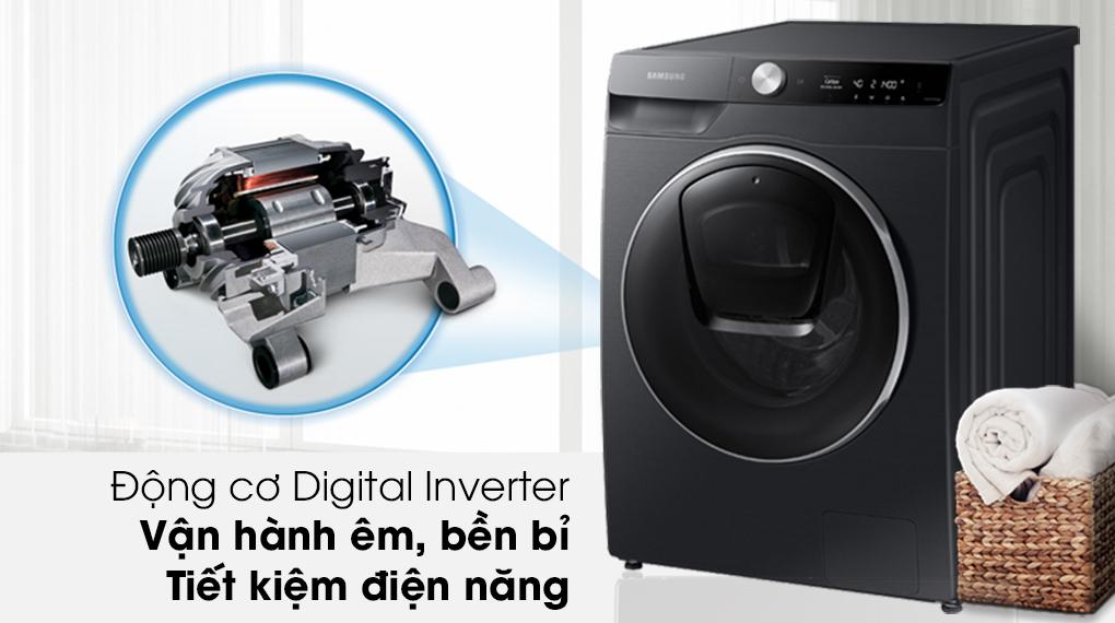 Máy giặt Samsung AI AddWash Inverter 12kg WW12TP94DSB/SV - Digital Inverter tiết kiệm điện