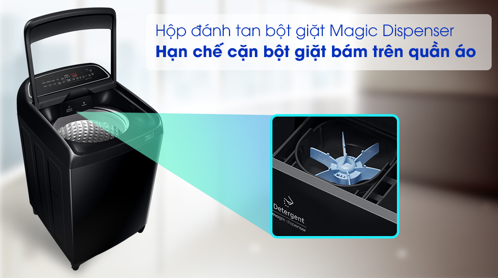 Máy giặt Samsung WA10T5260BV/SV - Magic Dipenser
