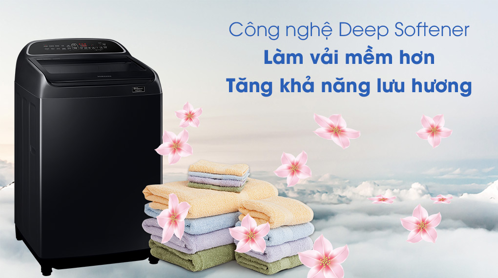 Máy giặt Samsung WA11T5260BV/SV - Lưu hương