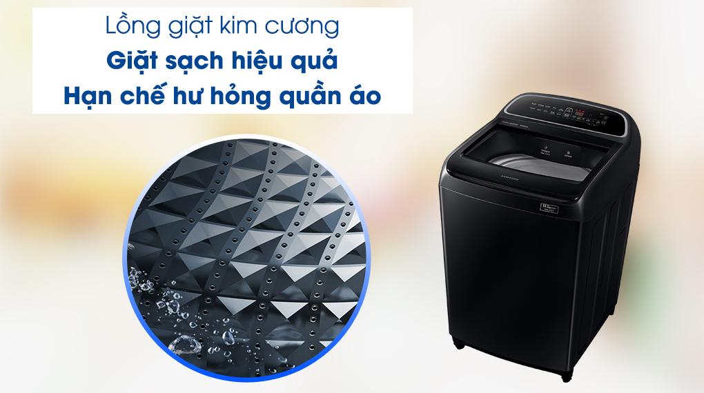 Máy giặt Samsung WA11T5260BV/SV - lồng giặt kim cương